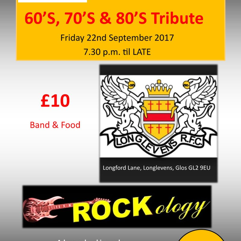 James Hopkins Trust presents - 60's, 70's and 80's Night