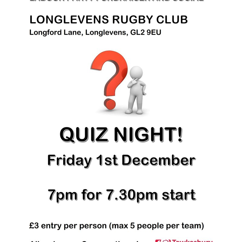 Quiz Night - Hosted by Tewkesbury Labour Party
