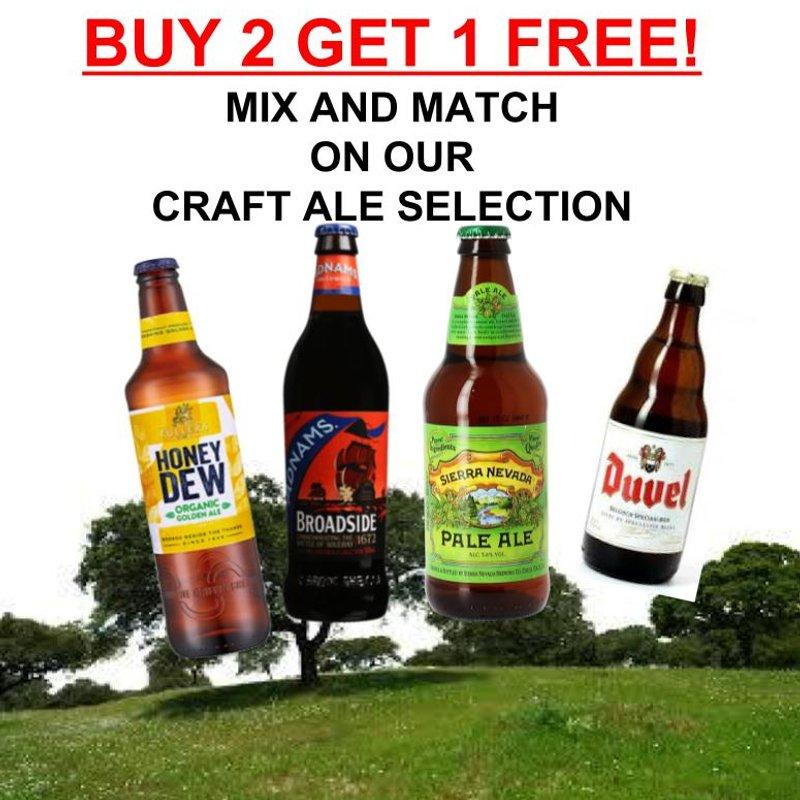 Bottled Craft Ale Deal