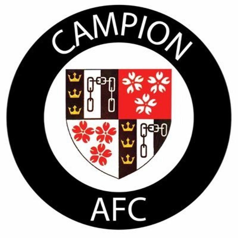 Up next – Campion (away)