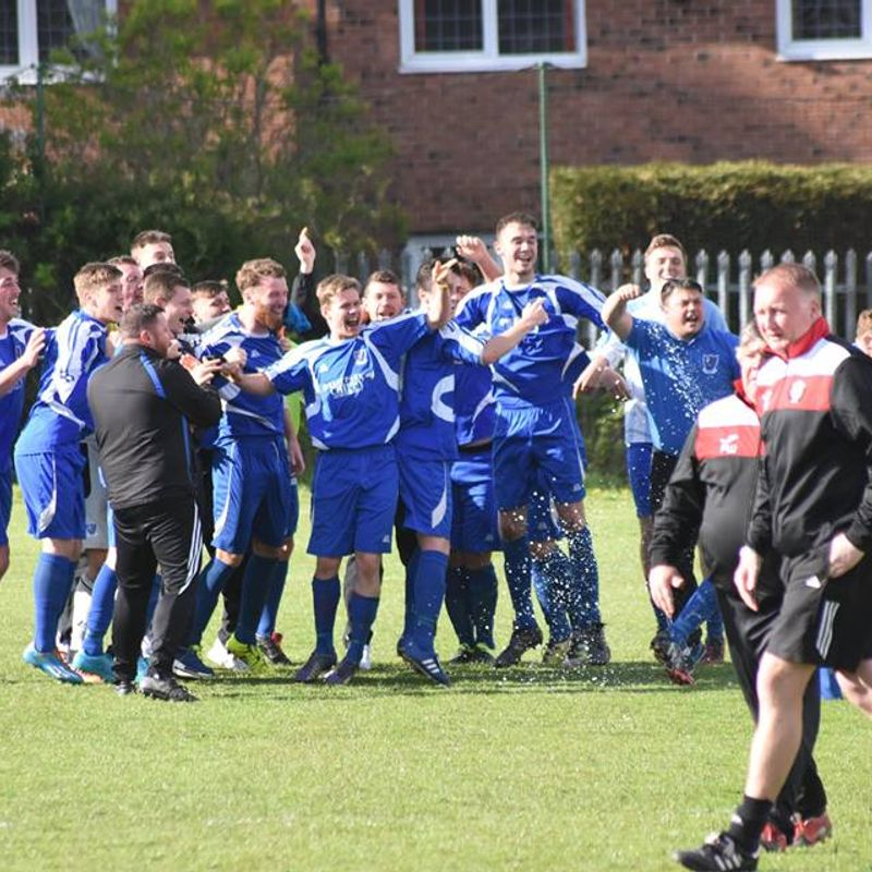 Final day joy as Hall Road storm to NCEL First Division title