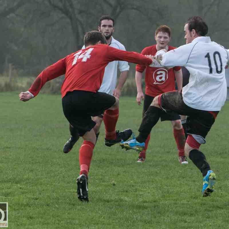Dyffryn Banw 2 - 3 Aberystwyth Uni  Sun 1/11/2015