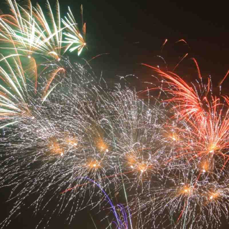 Fireworks display at Acklam Park 05-11-11