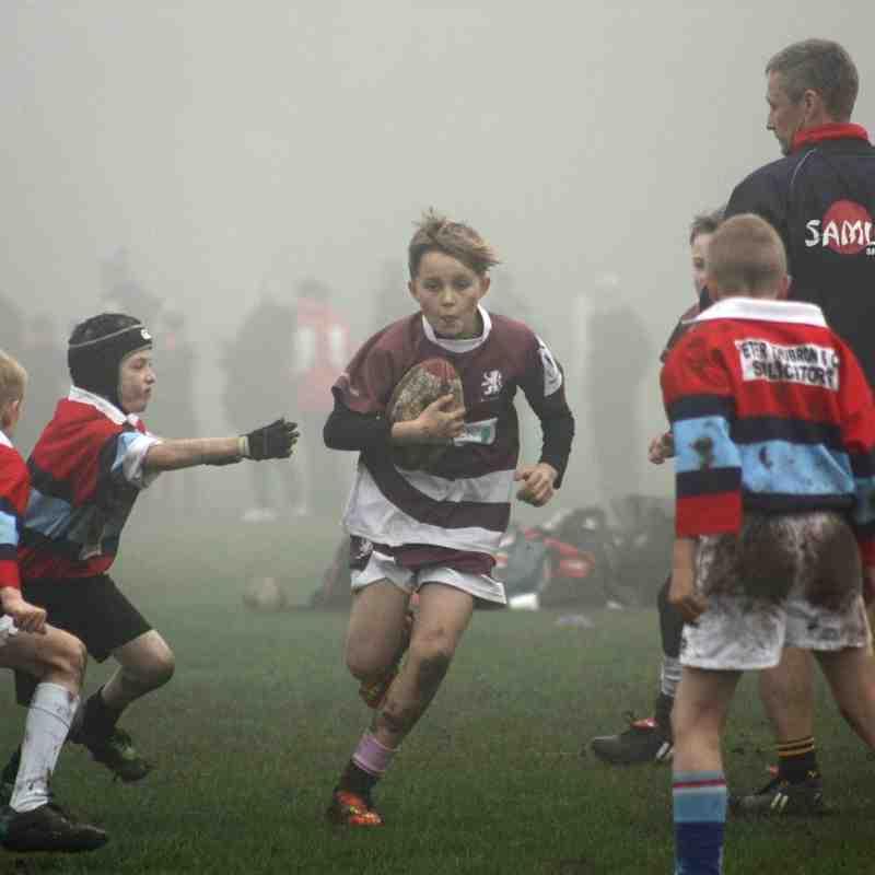 U11s Lions County Cup Hartlepool 16-11-14