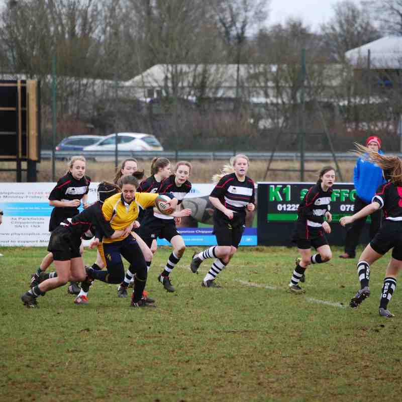 Girls U15 CRFC v Basingstoke 19022017