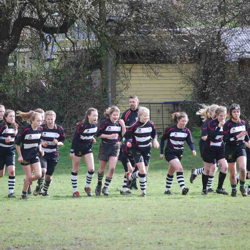 Girls U15 CRFC v Kingswood 050317