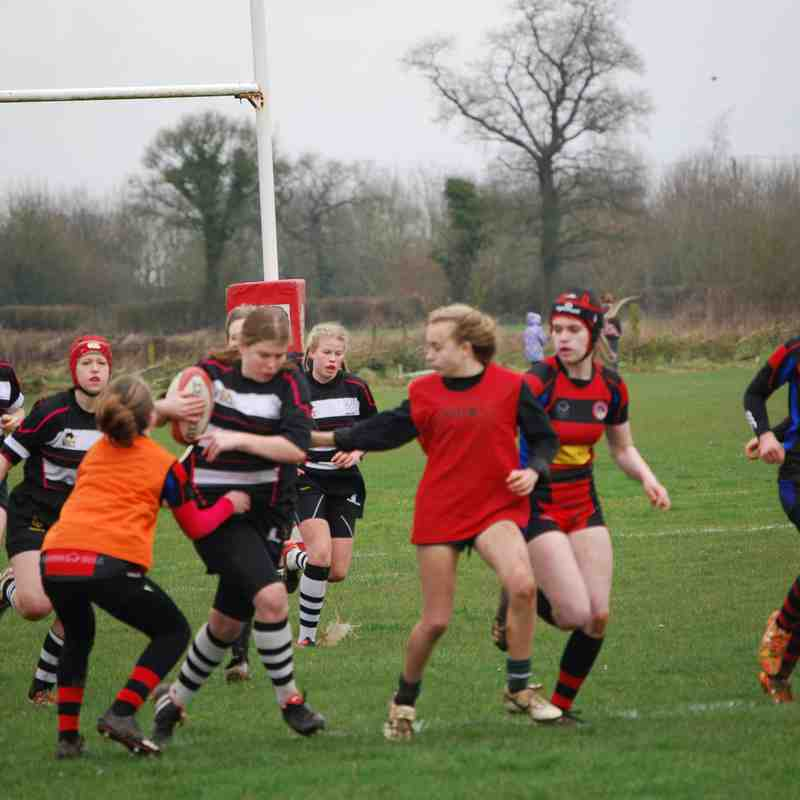 Girls U15 CRFC v Bradford On Avon 120317