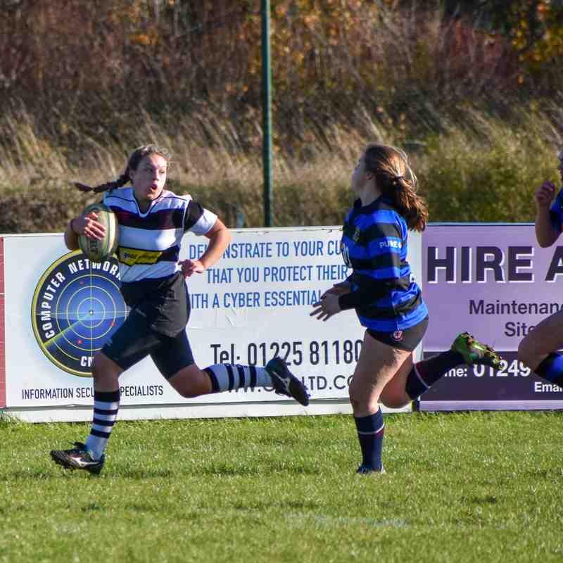 CRFC Girls u18 v Ding Crusaders 111118 Cup