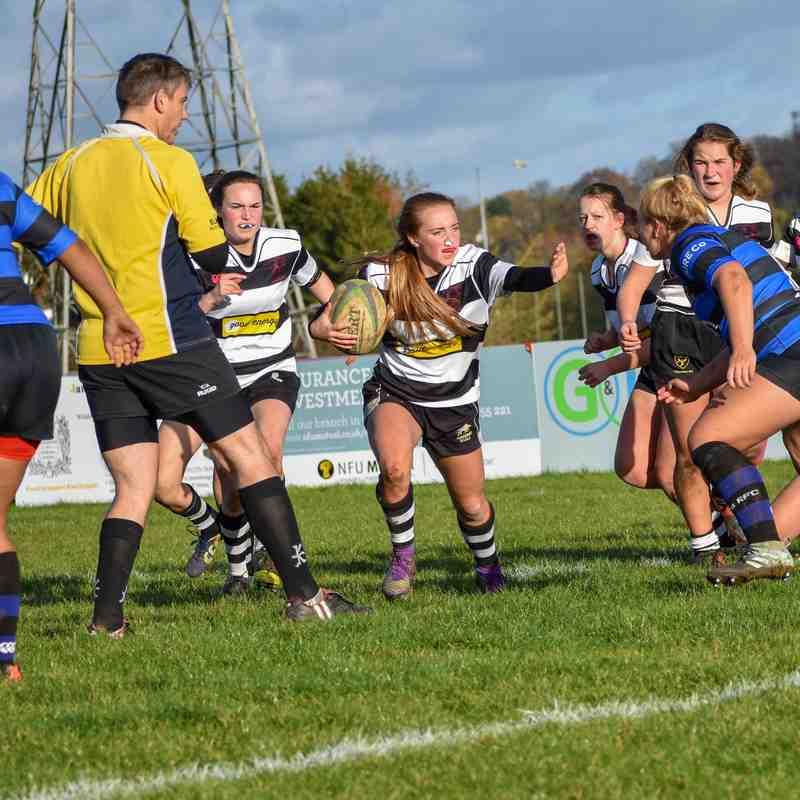 CRFC Girls u18 v Ding Crusaders 111118 Cup
