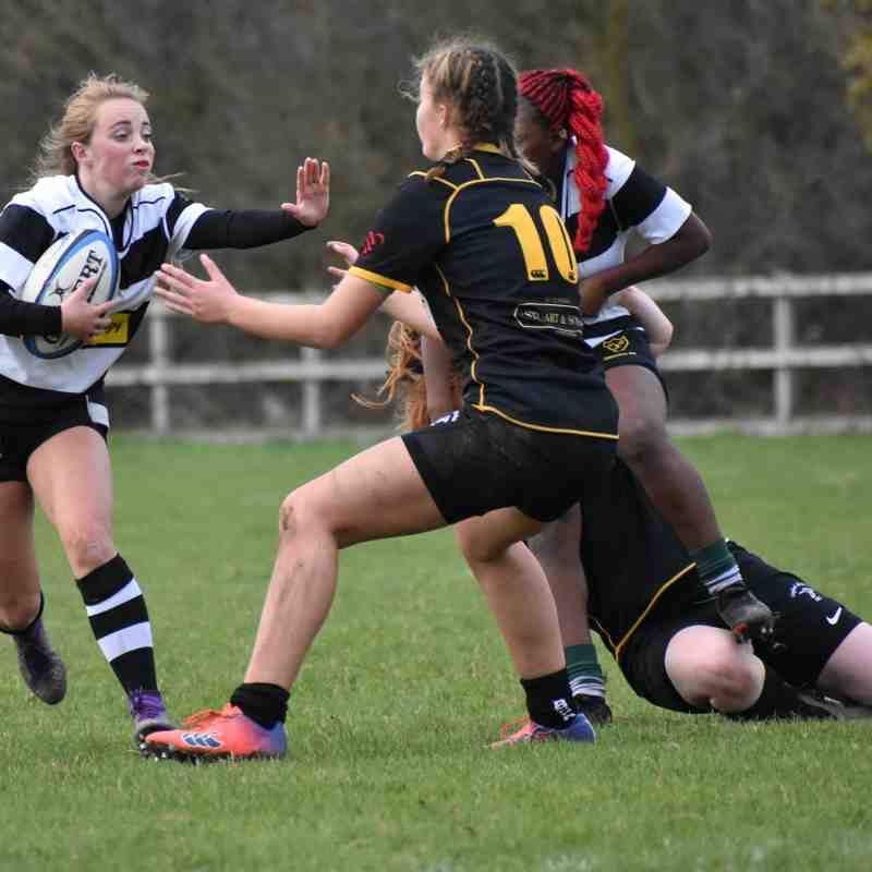 CRFC Girls U18 v Gosford & Grove 251118