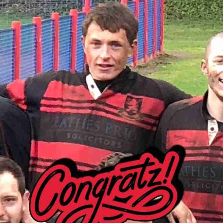 2nd XV - January Player of the month