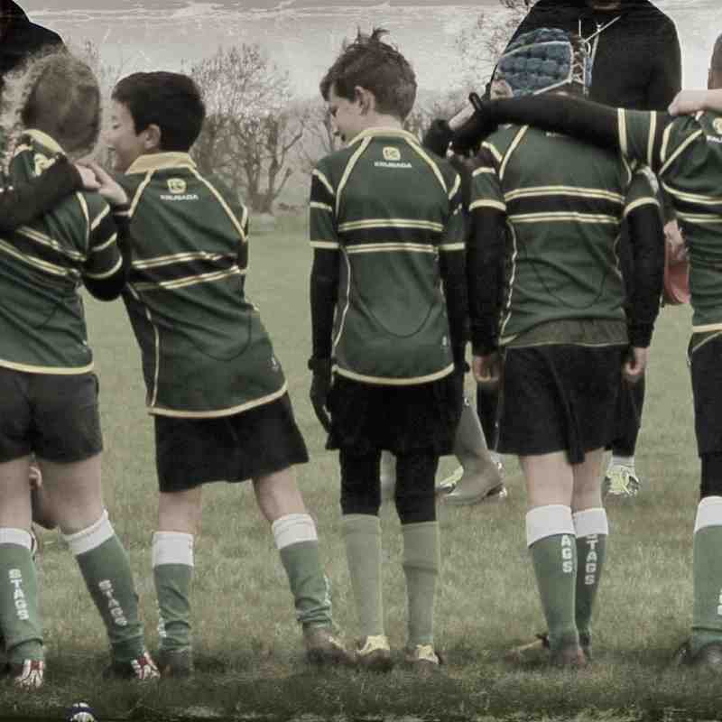 Stags Under 9's 15th April vs Biggleswade and Oundle