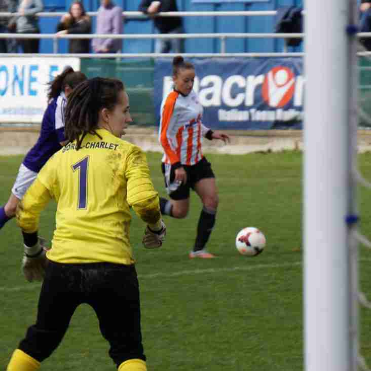Ashford Ladies leave it late to rescue a point