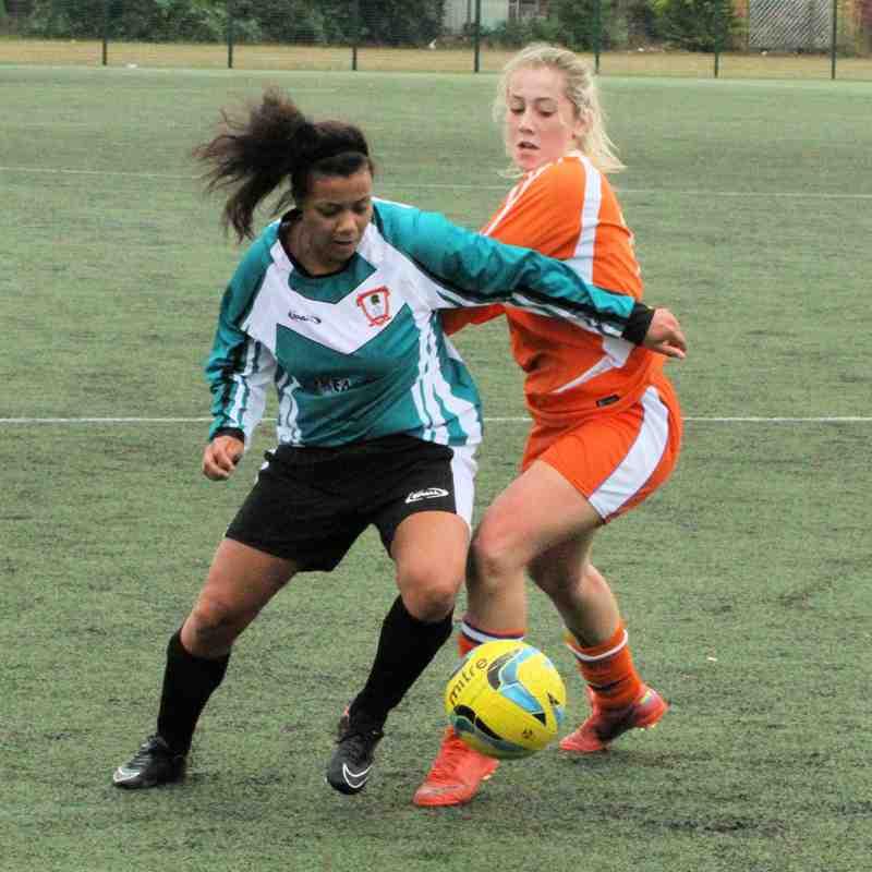 Ashford Town (Middx) Ladies FC v Colne Valley - Pre Season