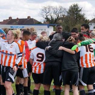 Ashford Town (Middlesex) Ladies seal league title
