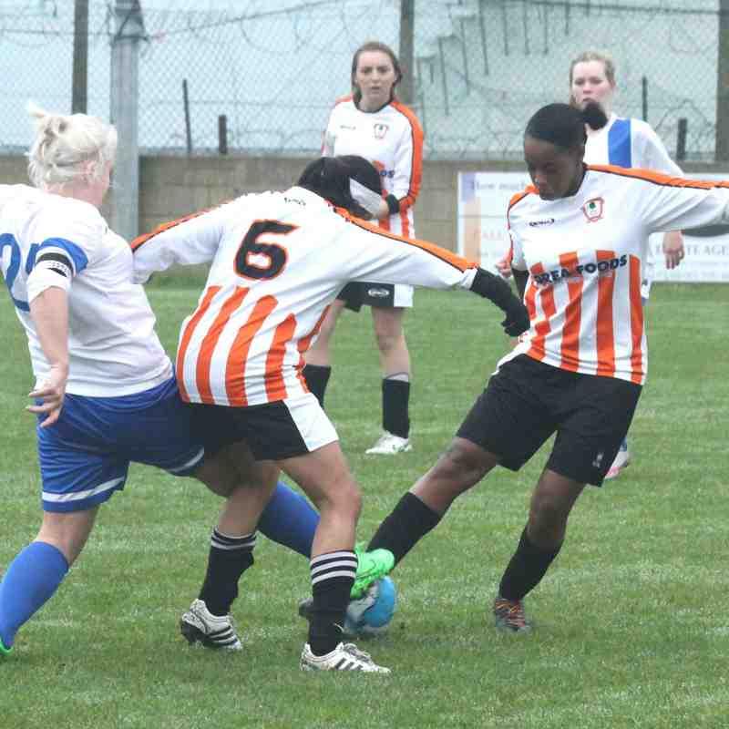 Ashford Town (Middx) Ladies FC v Club Langley - League 15/16