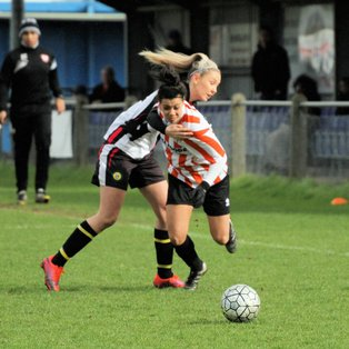 Ashford Ladies progress to the semi finals of the GLWFL Trophy