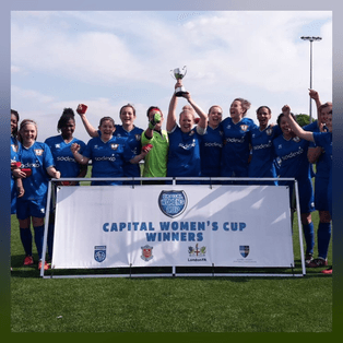 Ashford Town (Middx) Ladies Win Capital Women's Junior Cup