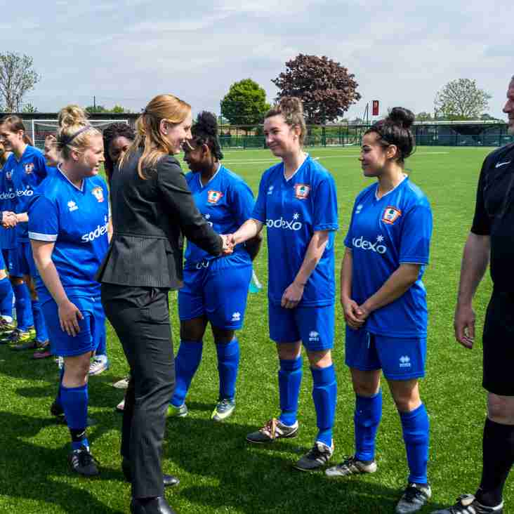 Ashford Ladies Book Semi-Final Place