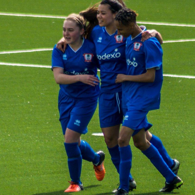 Ashford Ladies Progress in the John Greenacre Memorial Trophy