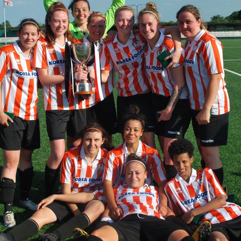 Goal fest sees Ashford Ladies lift JGMT