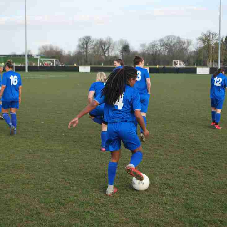 Ashford Ladies book cup final place