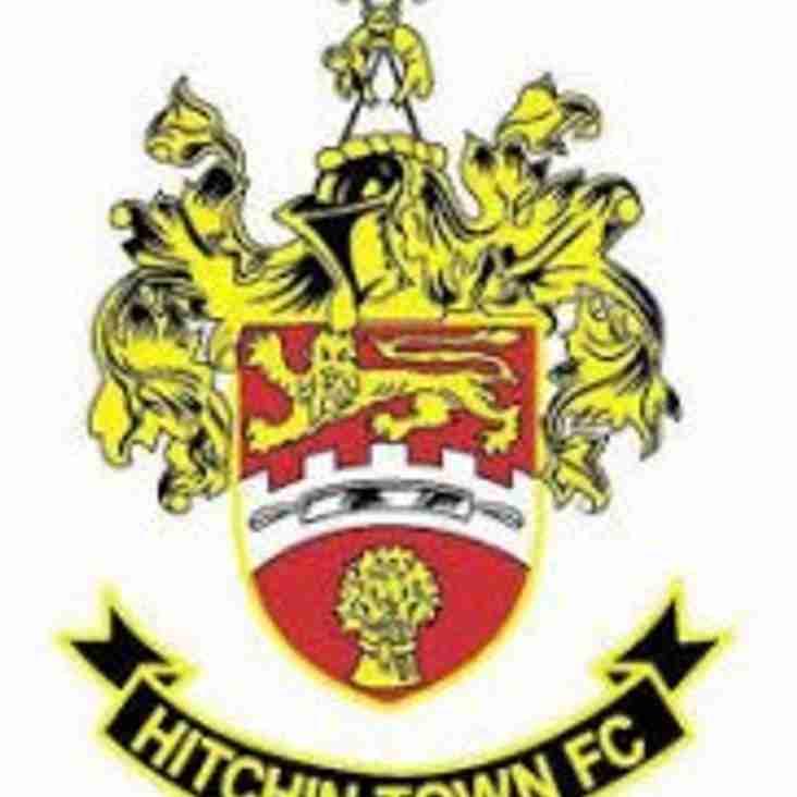 Match Preview: Hitchin Town v Rebels Saturday 11th Mar - kick off 15:00