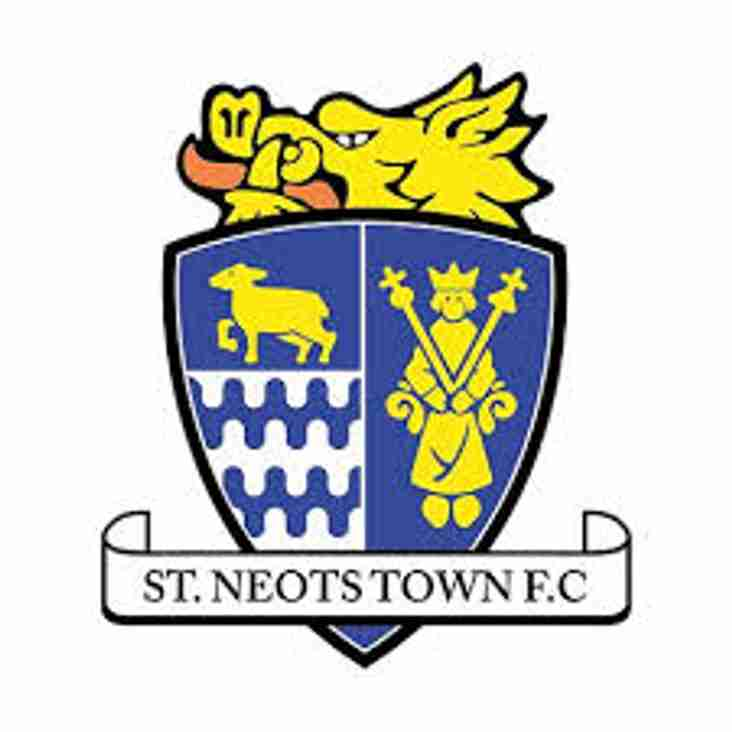 Match Preview: St. Neots Town v Rebels Tuesday 14th Mar - kick off 19:45