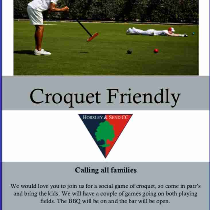 Croquet Family Day