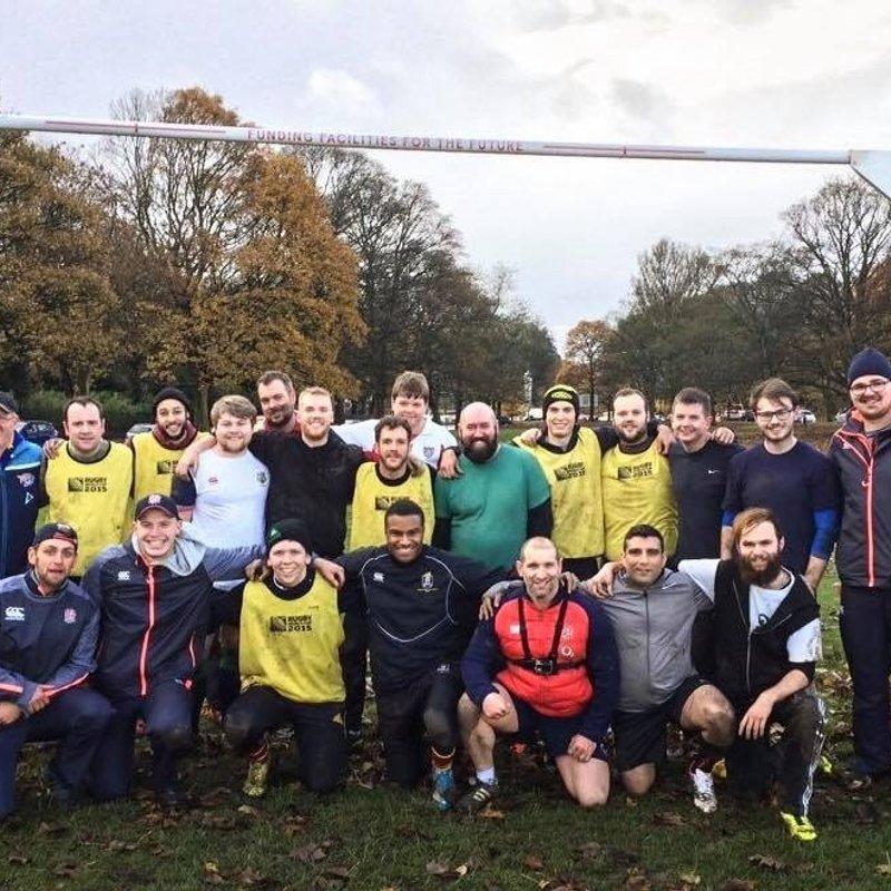The Leeds Hunters v Yarnbury RUFC V