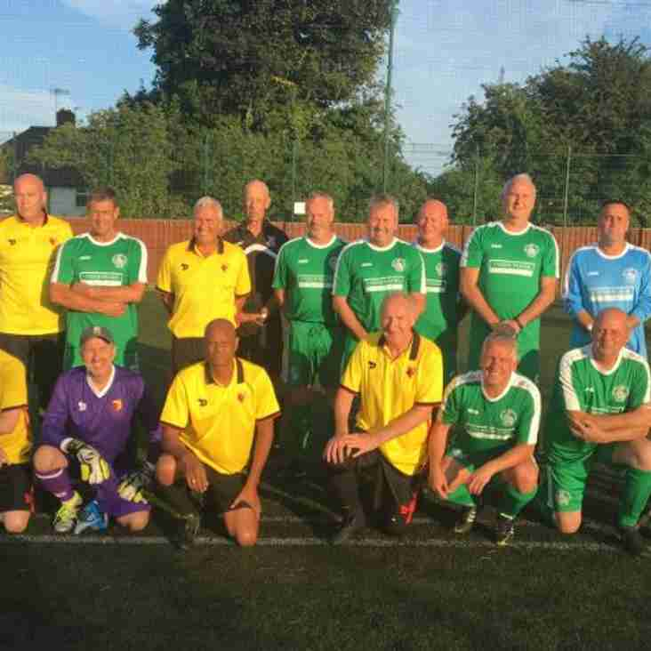 WALKING FOOTBALL UPDATE V WATFORD AND
