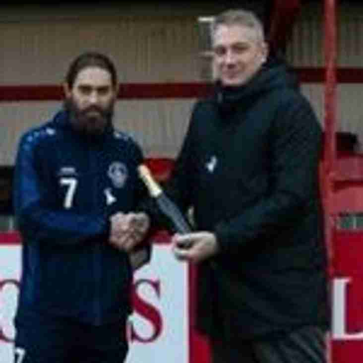 NOVEMBER PLAYER OF THE MONTH