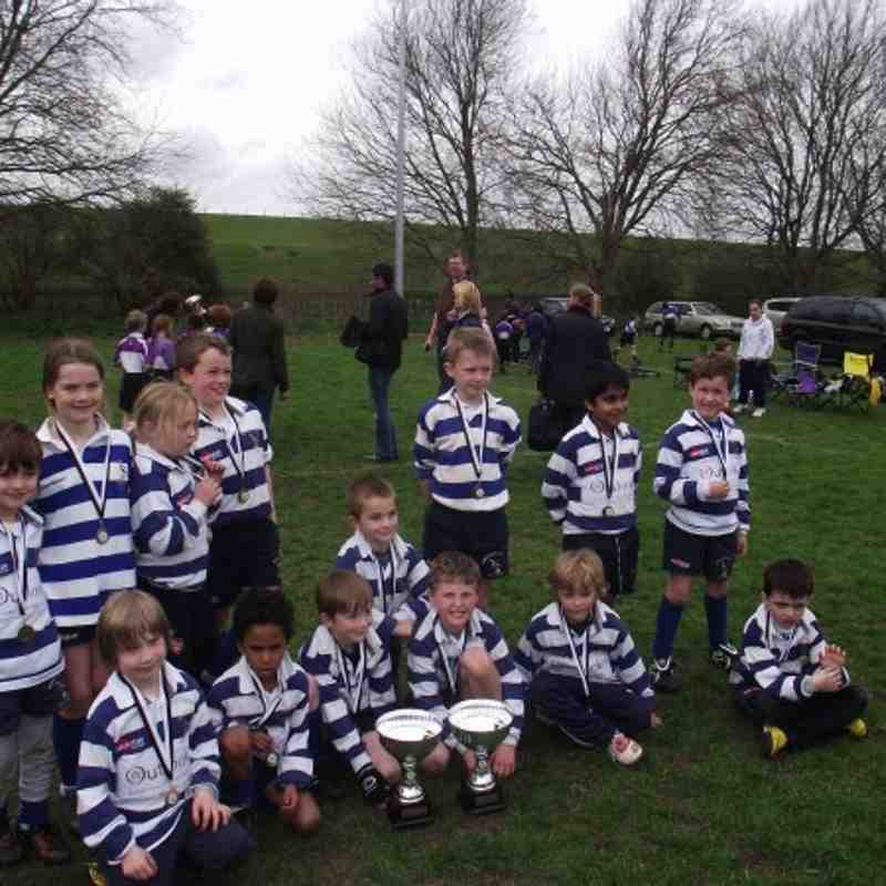 Wanstead 7's and 8's at the Chingford Festival 2011