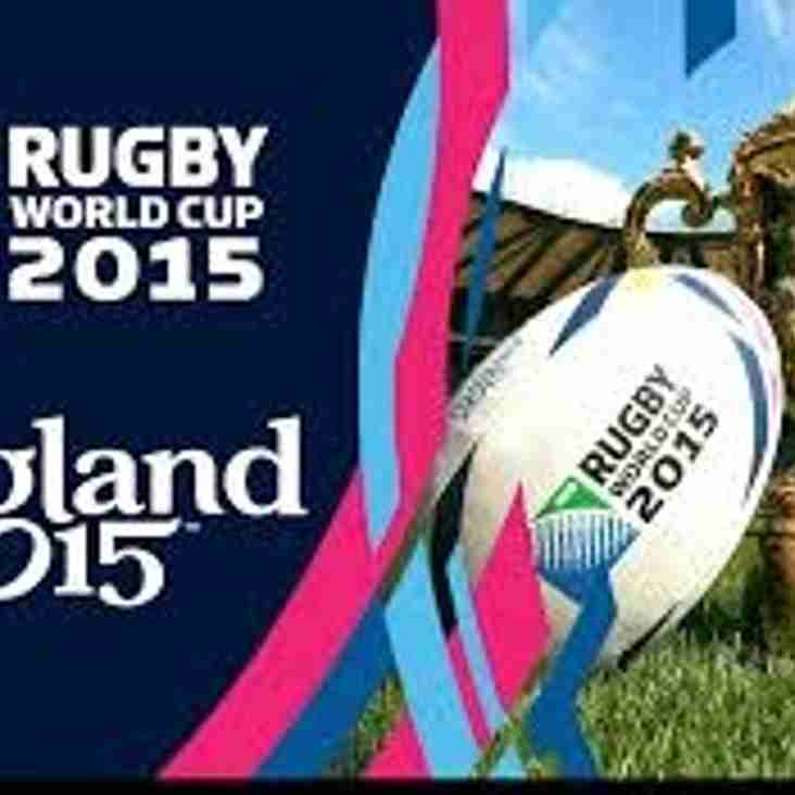 RWC 2015 Raffle Tickets