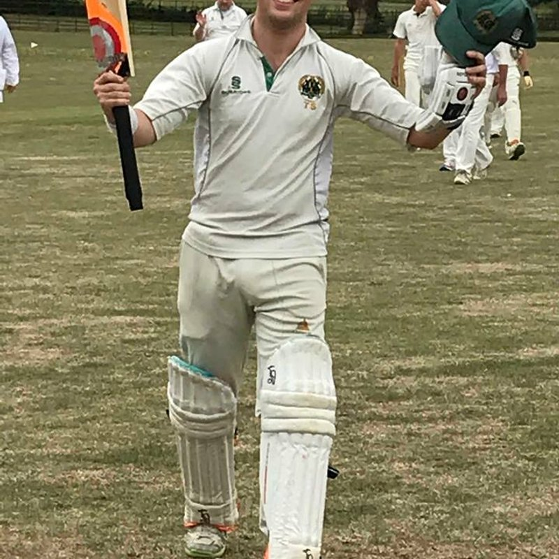 Stevenson century leads 1sts to rain-affected win at Bodicote