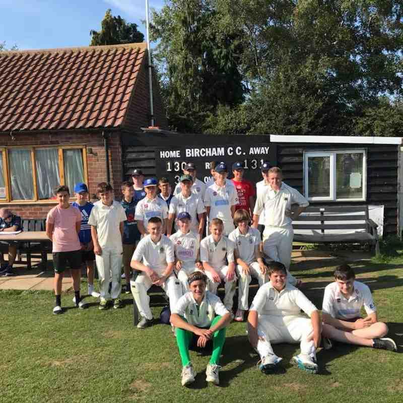 Under 15 Tour 2018 - Norfolk