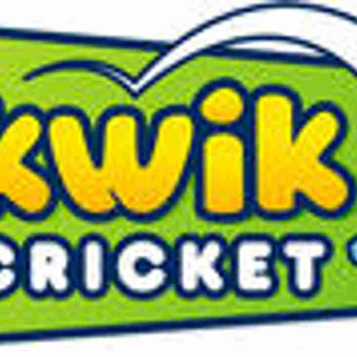 Kwik Cricket at Willoughby 2019 ~ come and join us