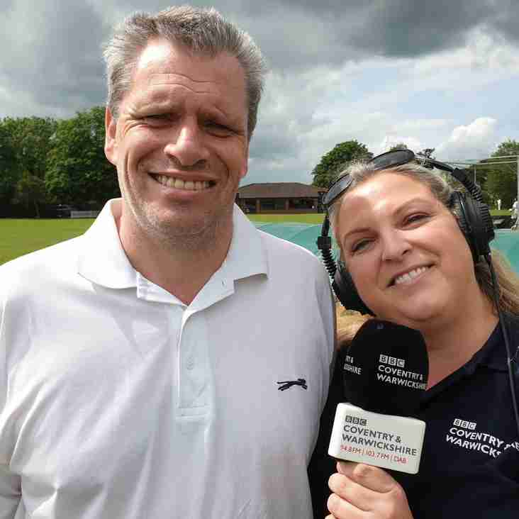 Willoughby CC on BBC Coventry & Warwickshire