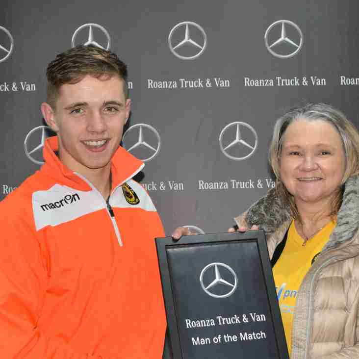 Harry Cain - Roanza Mercedes Man of the Match