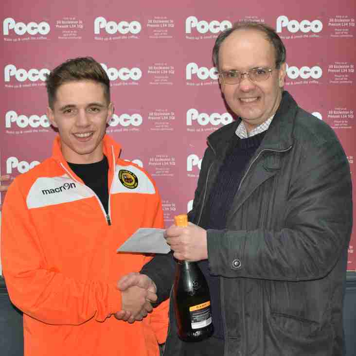 Harry Cain - Poco Coffee September Player Of The Month