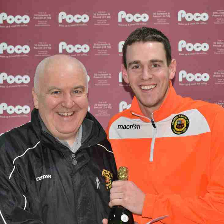 Lloyd Dean - Poco Coffee Player of the Month October