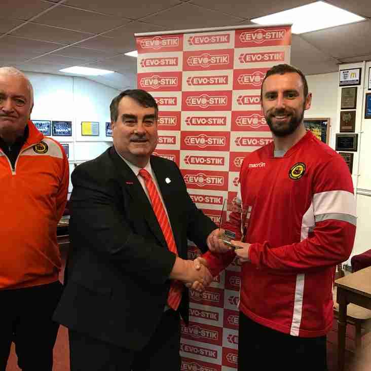 November's EVO-STIK League North Club of the Month award