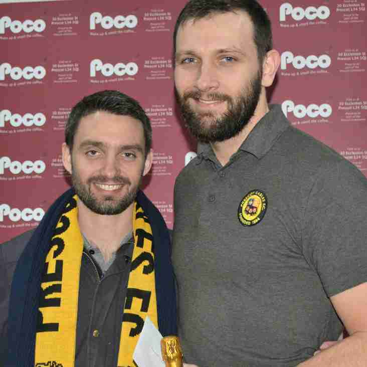 Poco Coffee 'Player of the Month' January 2018 - Ben Barnes