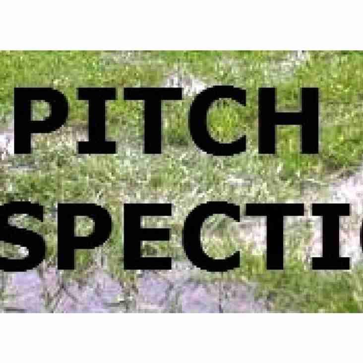 Prescot Cables vs Everton FC Pitch Inspection
