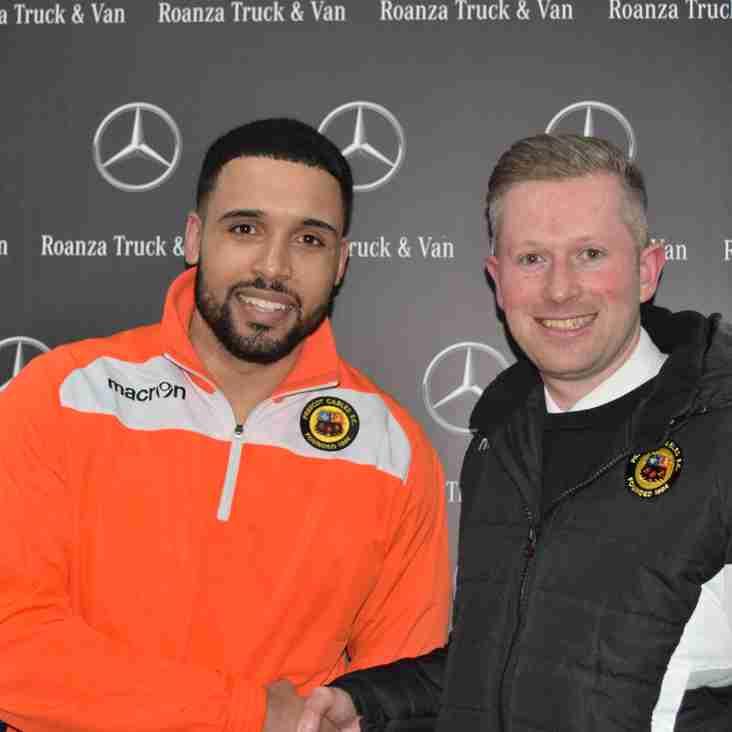 Roanza Mercedes Truck & Van 'Man of the Match' - Josh Klein Davies