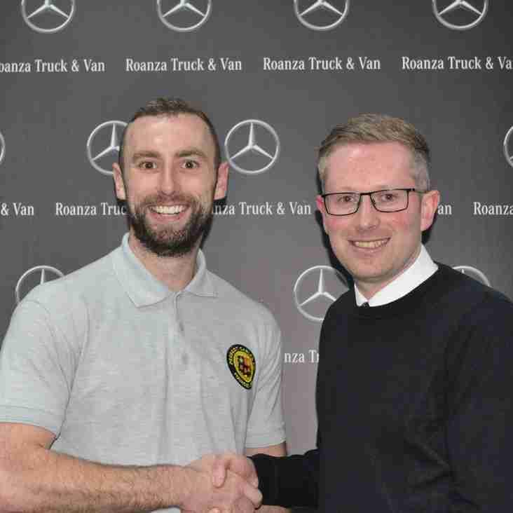 Roanza Mercedes 'Man of the Match' - James McCulloch