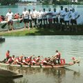 Third place in the Basel Dragon Boat Race