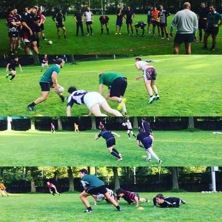 Rugby geschnuppert