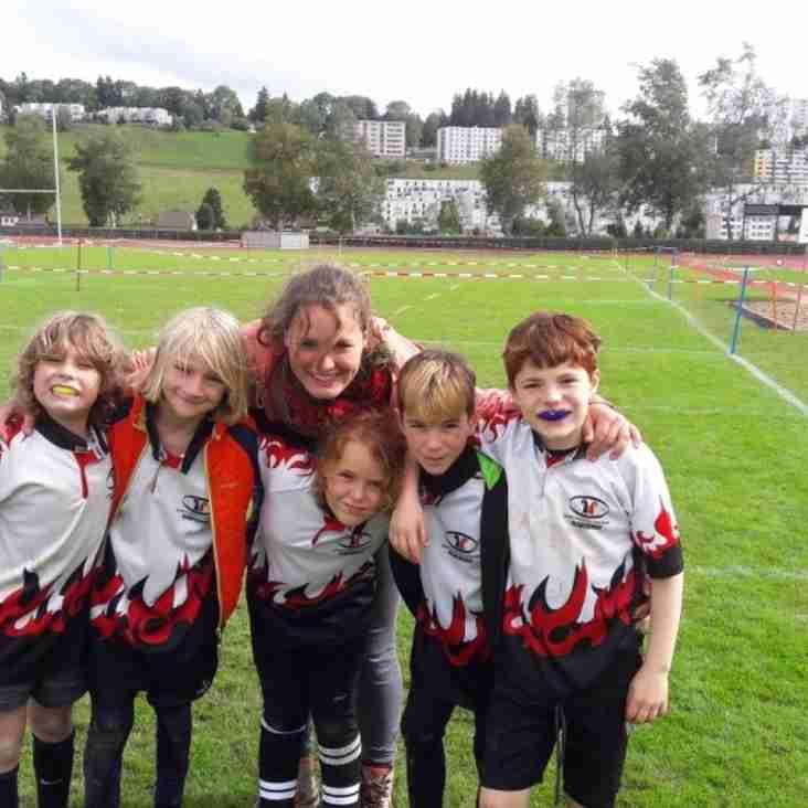Turnierbericht vom Rugbyturnier in La Chaux de Fonds