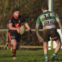 Avonmouth Old Boys RFC 19-22 Chew Valley RFC January 28th 2017